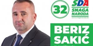 Predstavljamo kandidate: Beriz Sakić, kandidat SDA za Skupštinu TK
