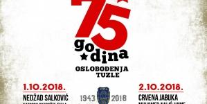 Obilježavanje Dana oslobođenja Tuzle u Drugom svjetskom ratu i 60 godina umjetničke karijere Nedžada Salkovića