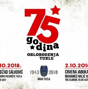 Crvena jabuka, Nedžad Salković i Muhamed Nalić za Dan oslobođenja Tuzle