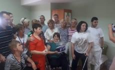 """Đemila Gabriel pomogla rad Udruženja roditelja i prijatelja  osoba  s posebnim potrebama """"Sunce"""" u Mostaru"""
