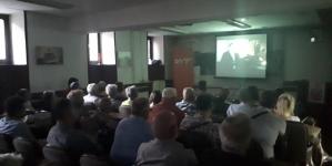 """Upriličena  projekcija dokumentarnog filma """"Vrtovi crvene ruže"""", Harisa Šehovića"""