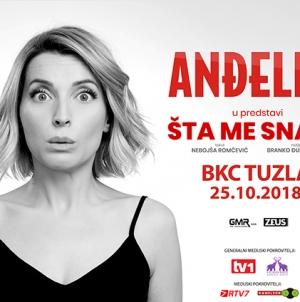 """Anđelka Prpić sa predstavom """"Šta me snađe?"""" 25. oktobra ponovo pred tuzlanskom publikom"""