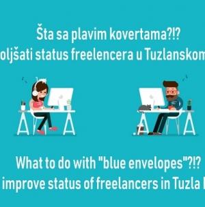 Šta sa 'plavim kovertama'? Panel diskusija o statusu freelancera u Tuzli