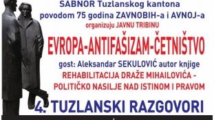 """Najava: 4. sesija """"Tuzlanskih razgovora"""" posvećena 75-godišnjici ZAVNOBIH-a"""