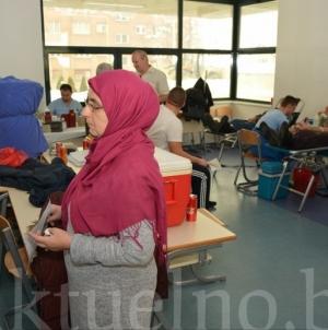 """Uspješno okončana akcija """"Daruj krv-spasi život""""u organizaciji  Medžlisa islamske zajednice Tuzla FOTO"""