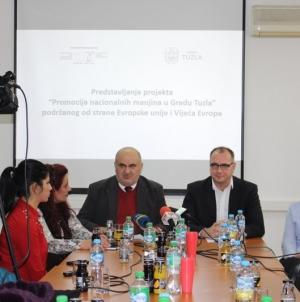 "Predstavljen projekat ""Promocija nacionalnih manjina u gradu Tuzli"""