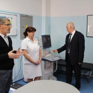 Aparat za ultrazvuk uručen tuzlanskom Domu zdravlja