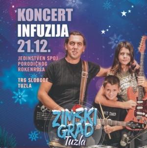 U Zimski grad stiže najveća LIVE atrakcija ovih prostora – Band INFUZIJA iz Bratunca