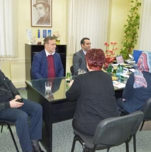 """Hossein Nouri posjetio Narodnu i univerzitetsku biblioteku """"Derviš Sušić"""""""