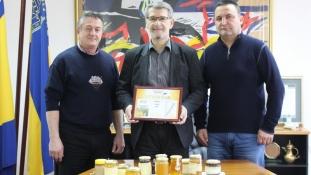 """Gradonačelnik razgovarao sa organizatorima Međunarodnog sajma """"Medena Tuzla"""""""