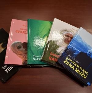 Promocija knjiga i druženje sa Sarom Sabri u JU BKC Živinice