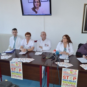 "UKC Tuzla: Humanitarna akcija ""Stop raku grlića materice"""