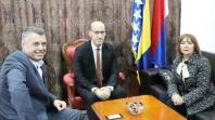 Ramiz Salkić u Banja Luci razgovarao sa Melikom Mahmutbegović, potpredsjednicom FBiH