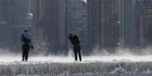 Fotografije zaleđenog Chicaga