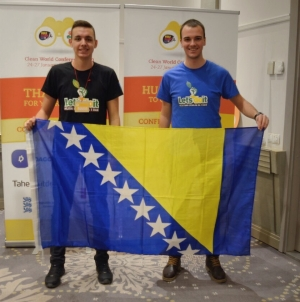 Amar Kavgić i Adnan Imamović predstavljali BiH na svjetskoj ekološkoj konferenciji