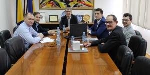 Gradonačelnik Imamović sa predstavnicima njemačke firme EKS InTec