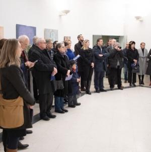 """Otvorena 19. izložba slika sa likovne kolonije """"Breške"""""""