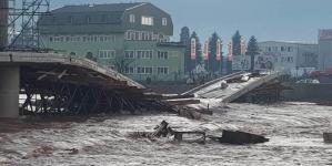 Nabujala rijeka srušila most na Ilidži