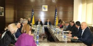 Federalni ministri s predstavnicima Koordinacije boračkih organizacija Armije RBiH