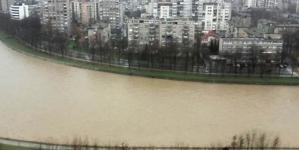 Nivo rijeke Bosne u Zenici preko četiri metra