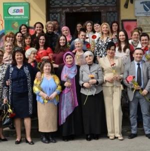 GO SDA Tuzla: Upriličen osmomartovski prijem za članice Asocijacije žena