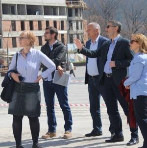 U toku finalni radovi na rekonstrukciji Trga Slobode i kompleksa Slane Banje