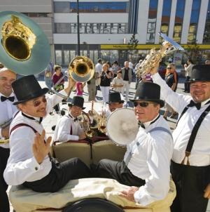 Koncert benda Daniel Speer Brass na Trgu slobode