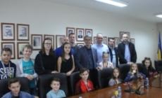 """Susret gradonačelnika Tuzle i najmlađih kadeta STK """"Kreka"""" Tuzla"""
