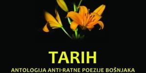 Najava promocije knjige Tarih-antologija antiratne poezije Bošnjaka