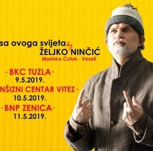 Urnebesna komedija Željka Ninčića «Ero s ovog svijeta»  9. maja u Tuzli
