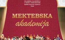 Najava mektebske akademije