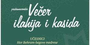 Predramazanska Večer ilahija i kasida u Tuzli