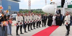 Papa Franjodoputovao u prvu zvaničnu posjetu Sjevernoj Makedoniji