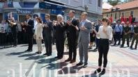 Delegacija Vlade Tuzlanskog kantona odala počast nevino stradaloj mladosti Tuzle