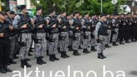 Pozdrav domovini na policijski način odjeknuo Tuzlom VIDEO