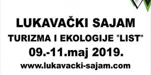 """Međunarodni sajam turizma i ekologije """"LIST"""" od 9. do 11. maja u Lukavcu"""