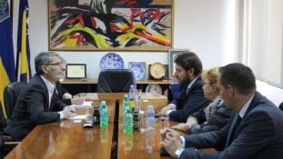 Gradonačelnik Tuzle se sastao sa Šefom Odjela za planiranje i politku djelovanja Misije OSCE-a u BiH