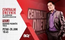 Specijalno izdanje Centralnog dnevnika sa Senadom Hadžifejzovićem emitovat će se u petak iz Tuzle