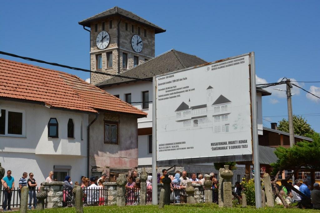 Gornjotuzlanska čaršija od danas ima svoju Sahat-kulu i moderan administrativni centar Medžlisa Islamske zajednice