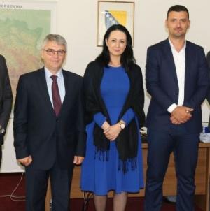 Delegacija Bosansko-podrinjskog kantona Goražde u prvoj zvaničnoj posjeti Federalnom ministarstvu za boračka pitanja
