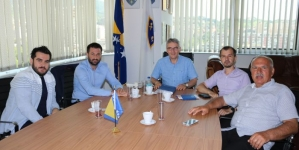 Delegacija Bošnjaka iz Orašja u posjeti ministru Bukvareviću