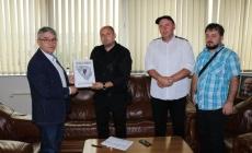 Posjeta saboraca iz Crnih labudova ministru Bukvareviću