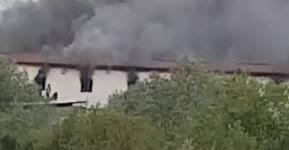 Velika Kladuša: Požar u prihvatnom centru za migrante