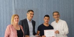 """Gradonačelnik Jasmin Imamović posjetio fabriku obuće """"Intral"""" BH"""