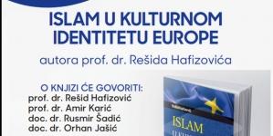 """Najava promocije knjige """"Islam u kulturnom identitetu Europe"""""""