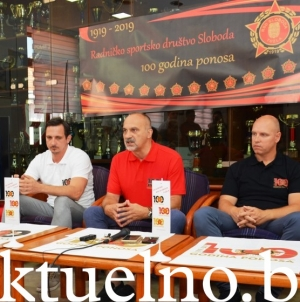 """Predstavljen program obilježavanja """"100 godina Radničkog sportskog društva Sloboda"""""""