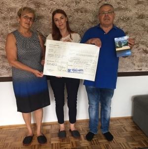 Muharem i Sadika iz Tuzle donirali 1000 eura djeci oboljeloj od raka