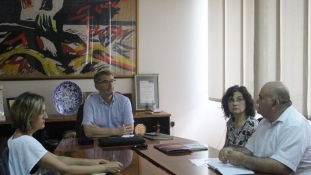 Gradonačelnik Tuzle se sastao sa predstavnikom udruženja Euro Rom i predstvanicom REF-a