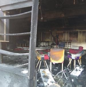 Požar zahvatio veliki studio Radio-televizije Tuzlanskog kantona