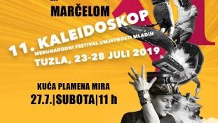 "Radionica sa Marčelom ""Muzika i odnos prema društvu"""